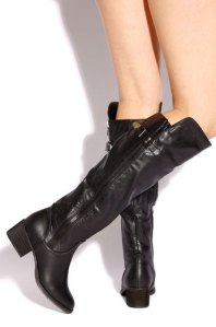 Black Boots by LOLASHOETIQUE