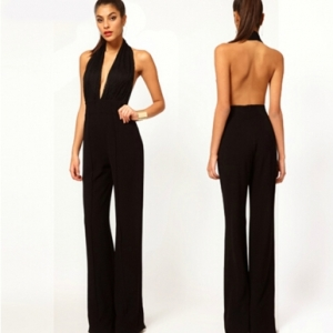 Black Chic Jumpsuit from Jolly Chic