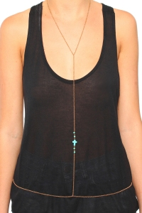 Cross Body Necklace