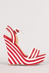 Side red wedges