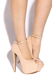 Nude Stiletto's
